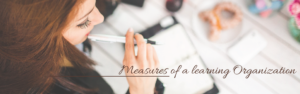 Measures of a Learning Organization – Part 1